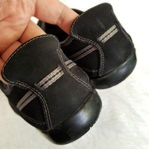 Clarks Shoes - ❌🚫SOLD🚫❌ CLARKS | Black Suede Slip-on